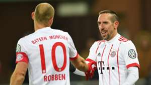 Arjen Robben Franck Ribery