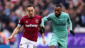 West Ham Arsenal 120119