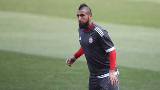 Arturo Vidal Bayern München 02042018