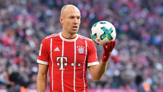 Arjen Robben Bayern Munich 24022018
