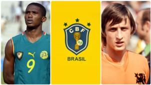 GFX Camisas mais loucas Copa do Mundo