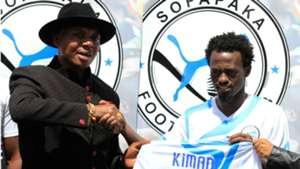 Sofapaka sign Anthony Kimani.