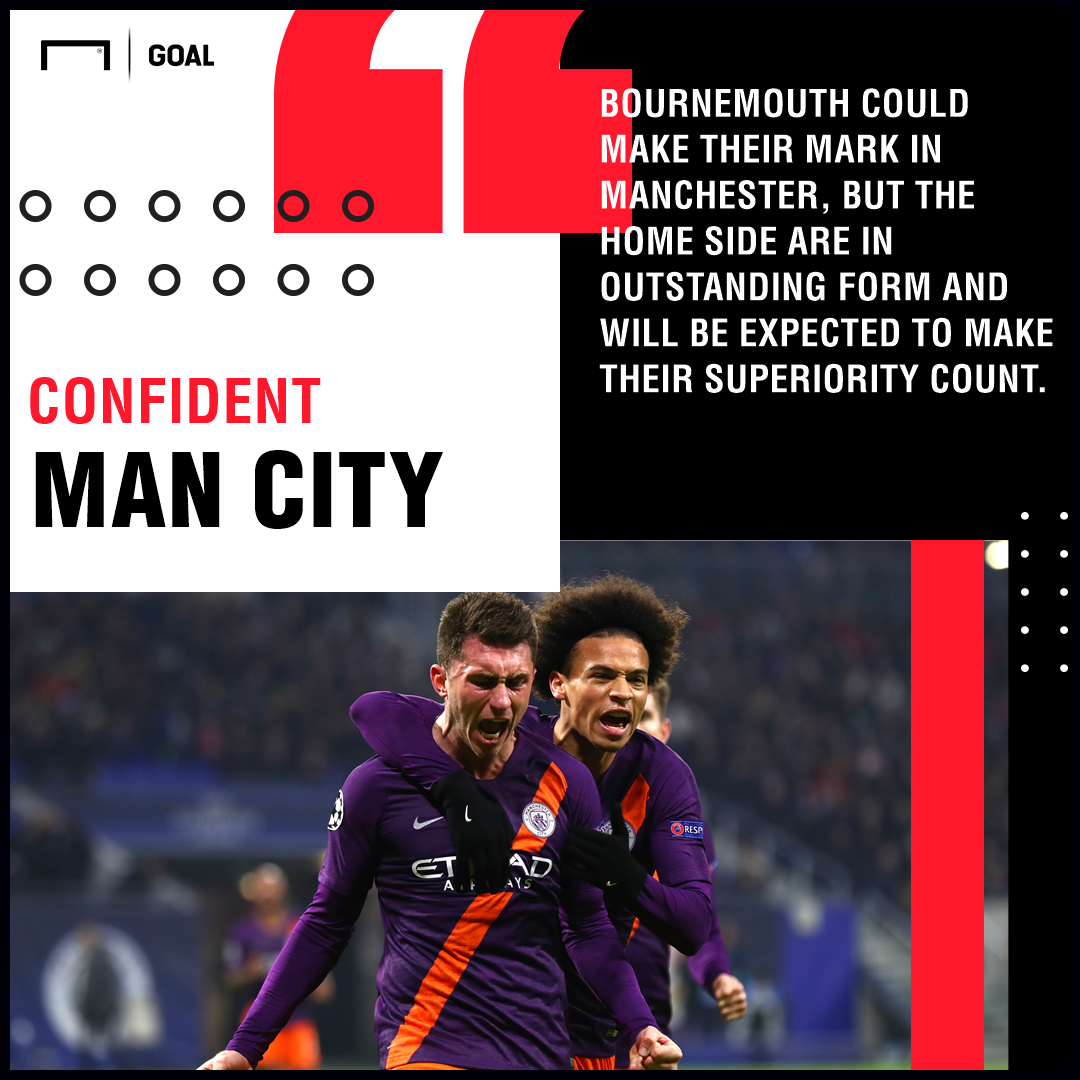 Man City Bournemouth graphic