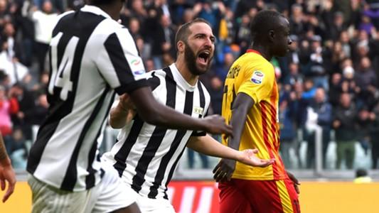 Higuain Juventus Benevento Serie A
