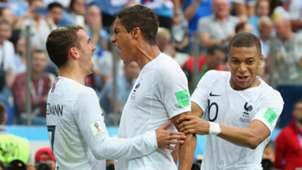 Frankreich Griezmann Varane Mbappe WM 2018