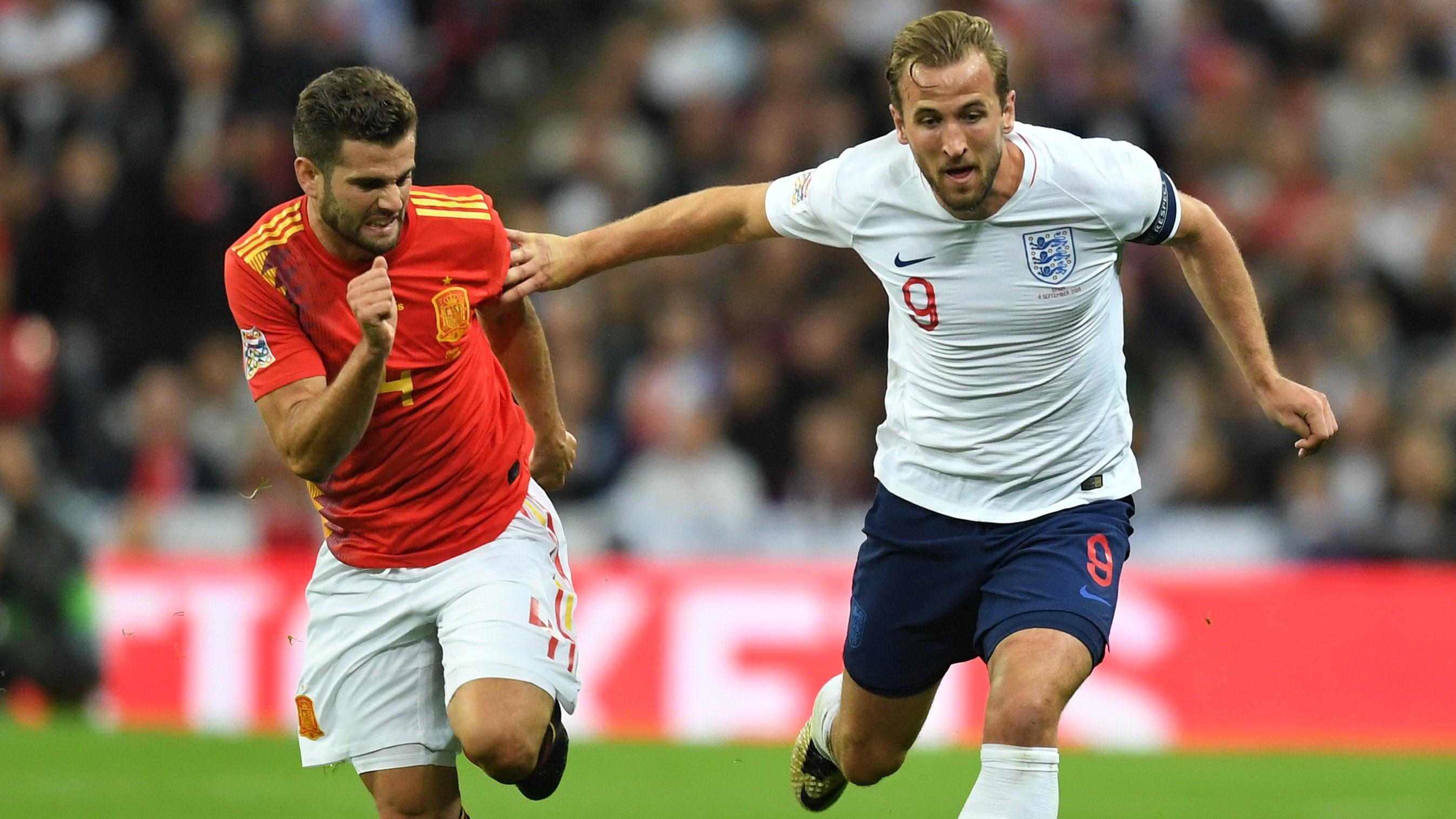 Nacho Fernandez Harry Kane Inglaterra España England Spain Nations League 08092018