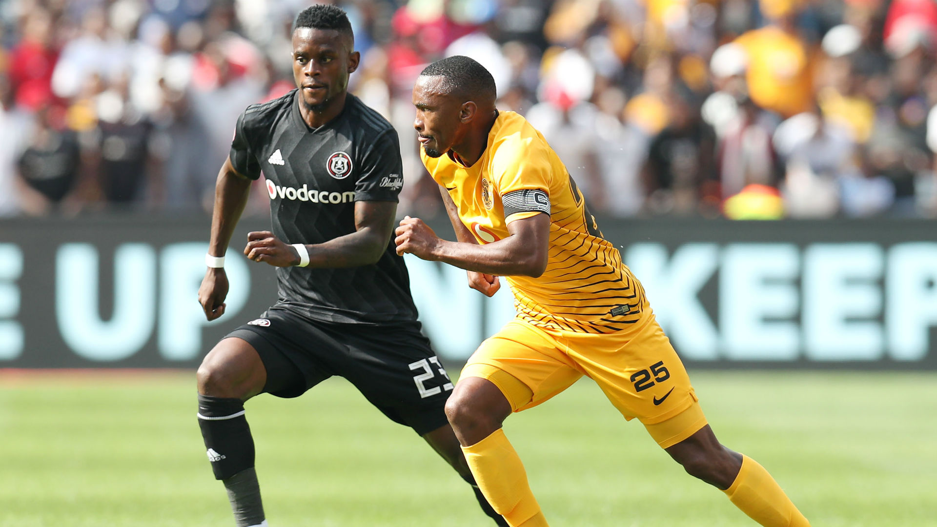 Innocent Maela, Orlando Pirates & Bernard Parker, Kaizer Chiefs, February 2019