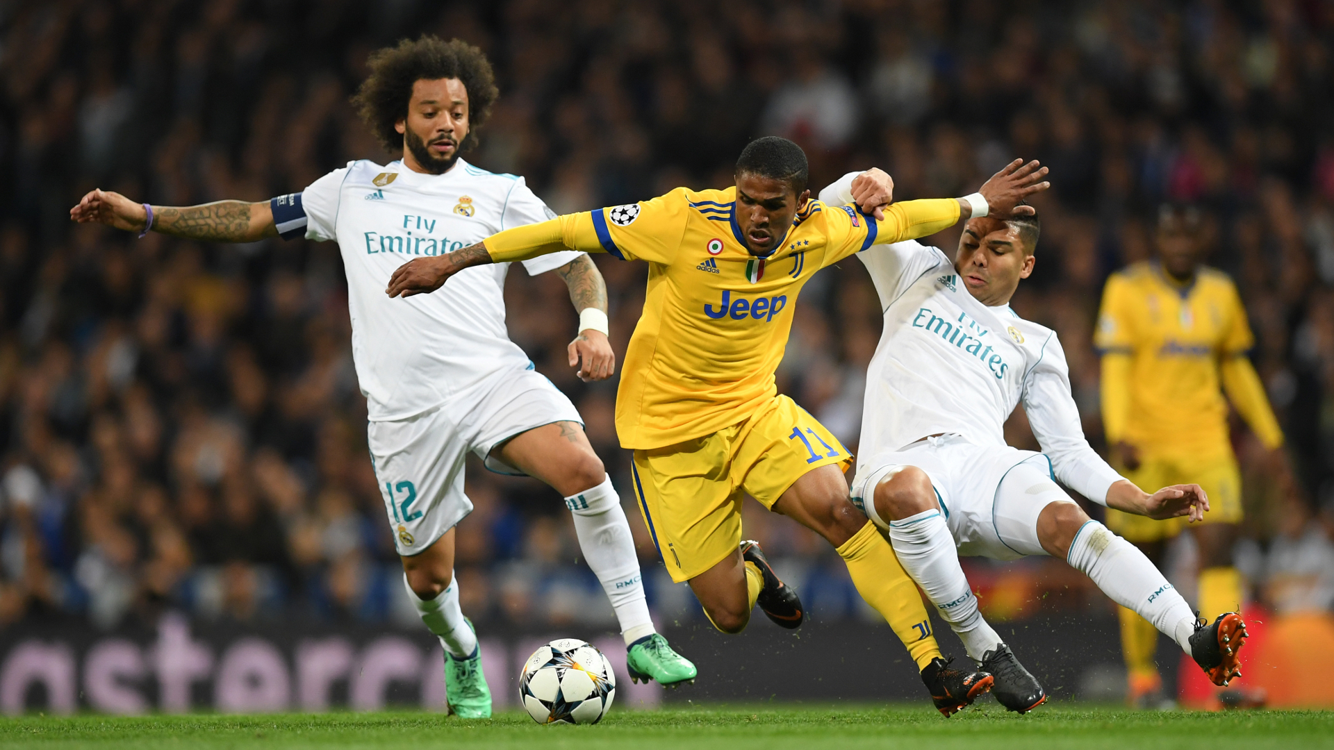 Douglas Costa Juventus Real Madrid