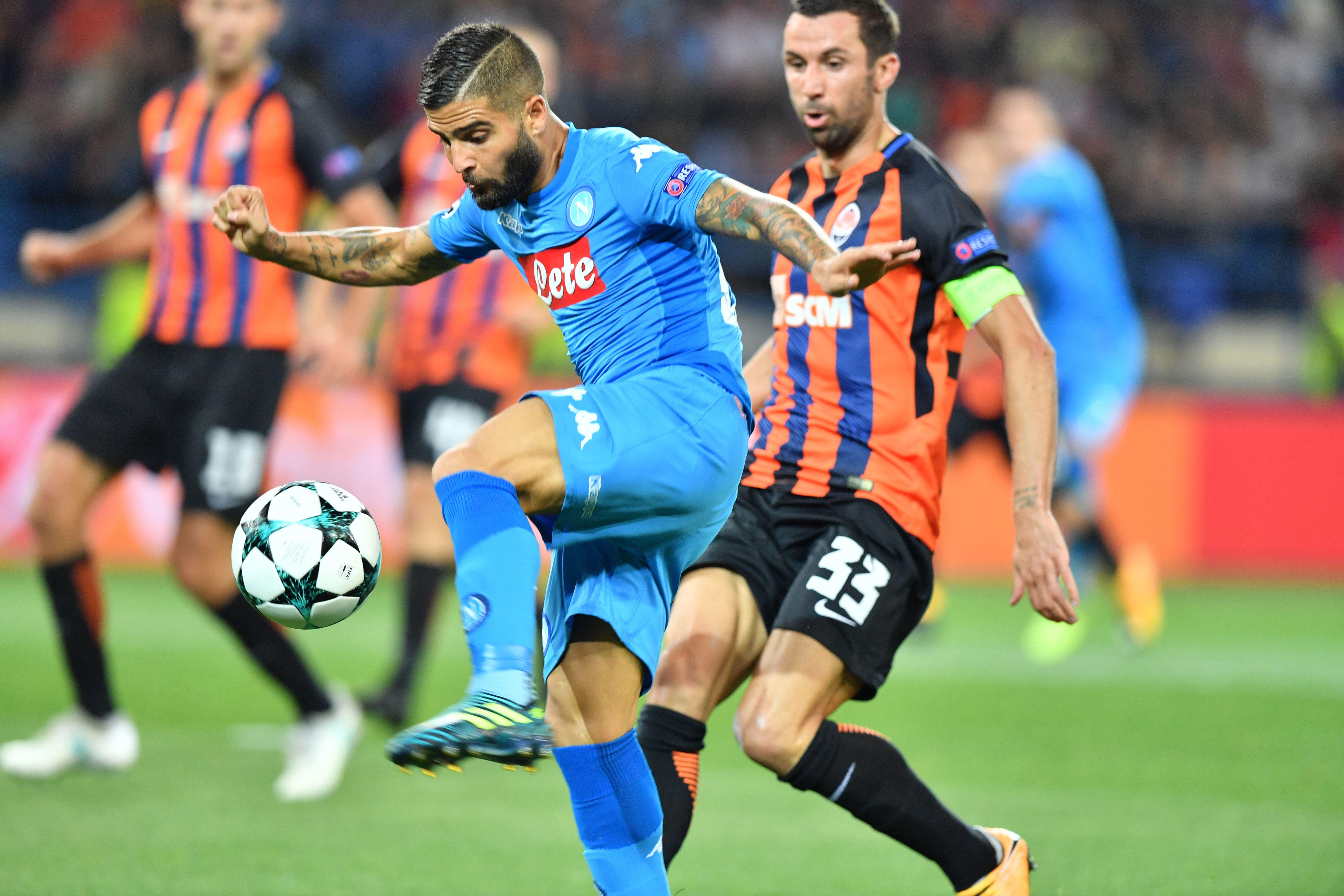 Champions League, Shakhtar Napoli 2-1. Insigne: 'Forse ci abbiamo creduto tardi'