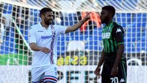 Gregoire Defrel Jeremie Boga Sassuolo Sampdoria Serie A