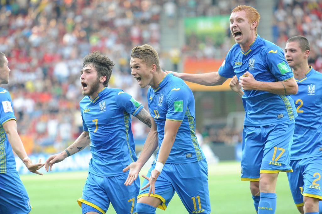 ผลการค้นหารูปภาพสำหรับ ยูเครนแซงดับเกาหลีใต้ 3-1 คว้าแชมป์โลกU20