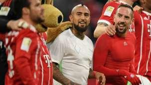 210118 Arturo Vidal Franck Ribéry Bayern Bremen