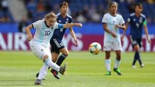 Estefania Banini Argentina Japão Copa do Mundo Feminina 2019 10062019