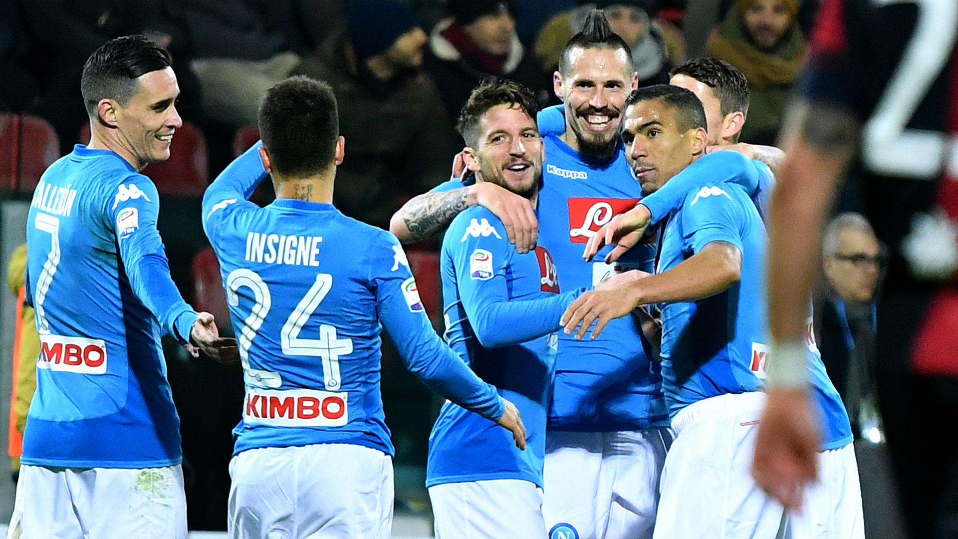 Hamsik Cagliari Napoli Serie A