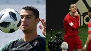 Barba de Cristiano Ronaldo Portugal