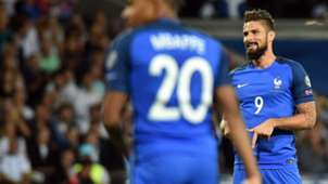 Olivier Giroud France Luxembourg World Cup Qualifiers 03092017
