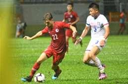 Hong Kong lost 0:2 to Chinese Taipei.