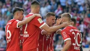 Niklas Dorsch Bayern Munchen Eintracht Frankfurt Bundesliga 28042018