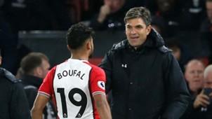 Sofiane Boufal Mauricio Pellegrino Southampton