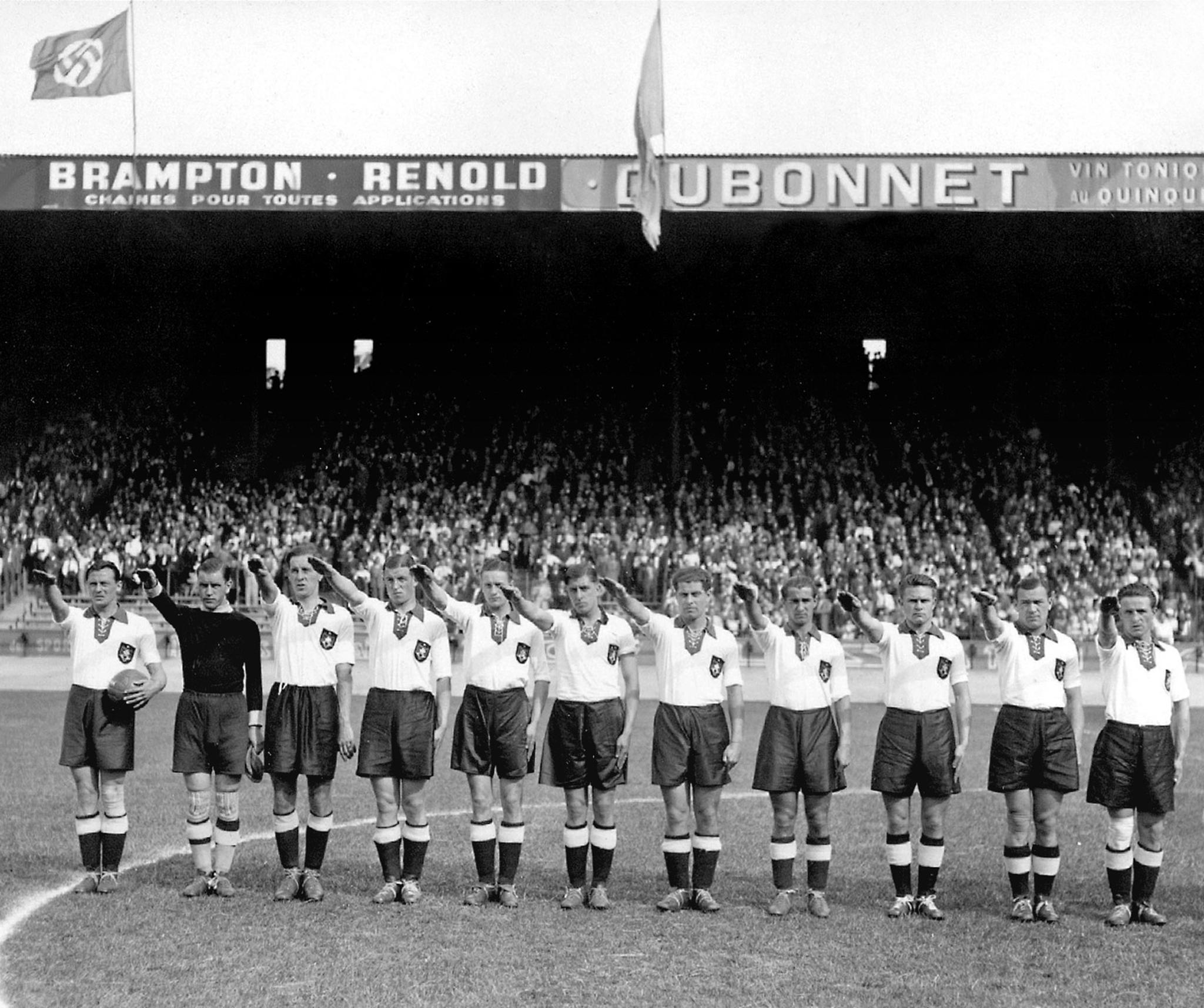 WORLD CUP-1938-GERMANY-SWITZERLAND
