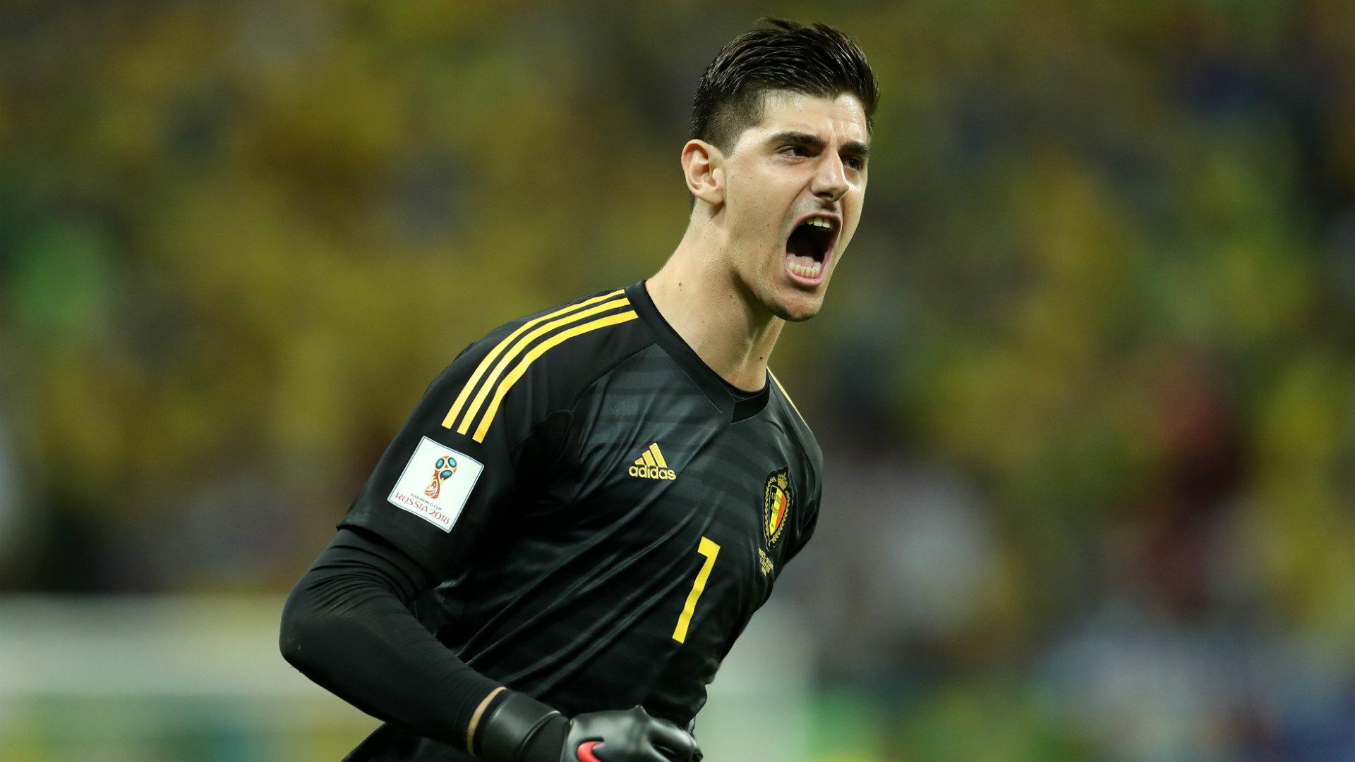 Thibaut Courtois Belgium World Cup 2018