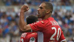 Islam Slimani: Algeria star equals Emmanuel Riviere's six-year AS Monaco record