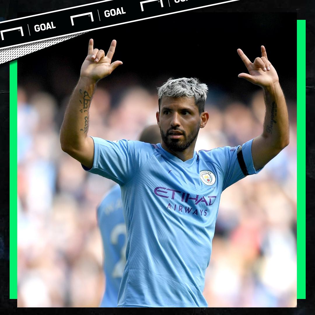 Sergio Aguero Manchester City PS