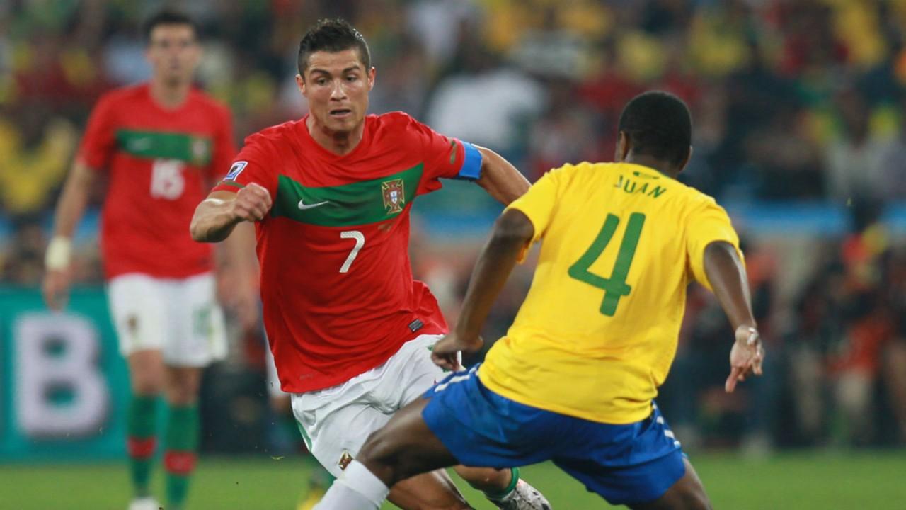 Cristiano Ronaldo Portugal World Cup 2010 Brazil