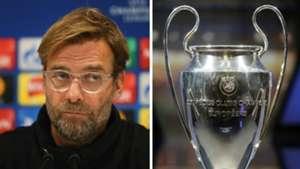 Jurgen Klopp Champions League Trophy