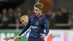 Dennis Johnsen, De Dijk - Ajax, KNVB Beker 10252017