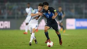 England vs Japan U17