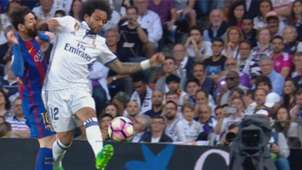 Marcelo Messi Real Madrid Barcelona La Liga 23042017