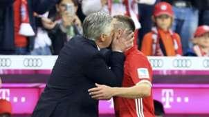 GER ONLY Ancelotti Ribery Kuss