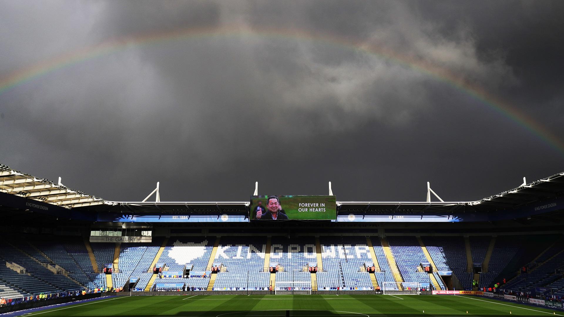 Vichai Srivaddhanaprabha tribute Leicester