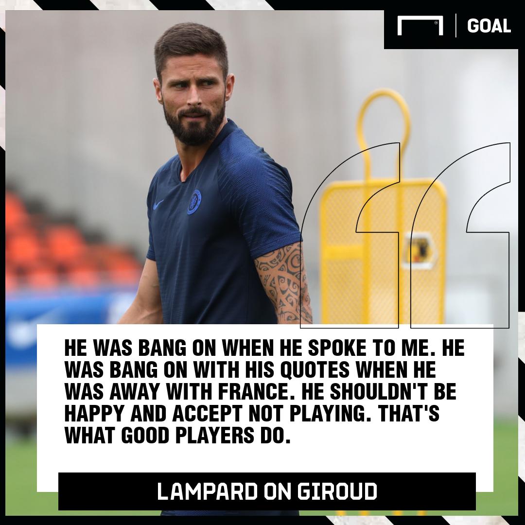 Lampard on Olivier Giroud quote GFX