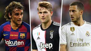 Antoine Griezmann, Matthijs de Ligt, Eden Hazard: transfer window 2019