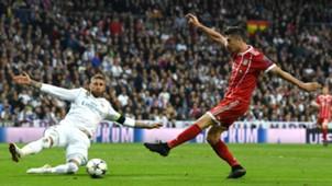 Robert Lewandowski Bayern Sergio Ramos Real Madrid