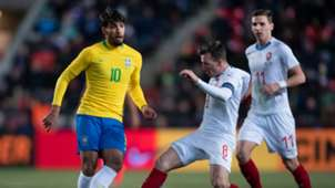 Lucas Paqueta Czech Republic Brazil Friendly 26032019