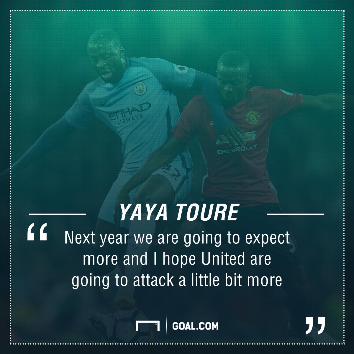 Yaya Toure quote PS