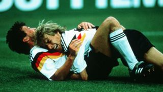 Jurgen Klinsmann Lothar Matthaus Germany