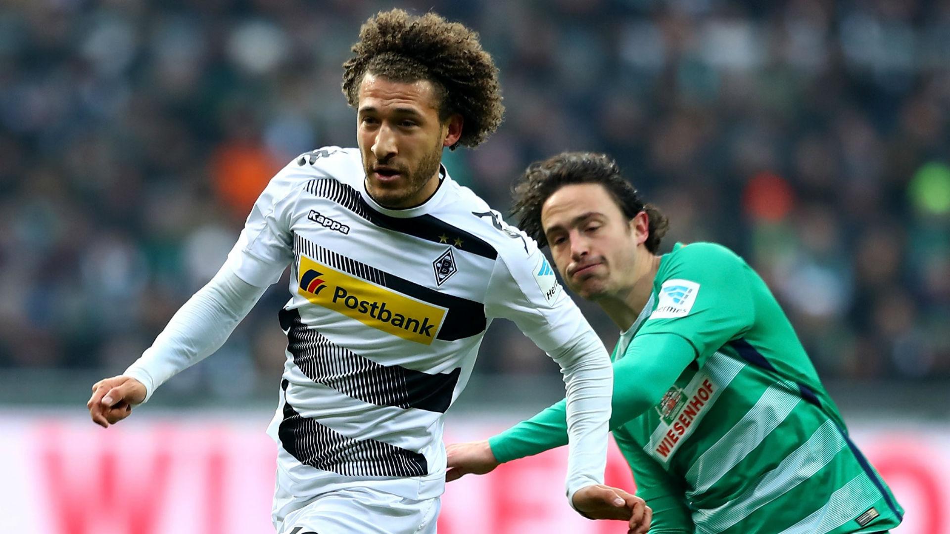 Fabian Johnson Borussia Moenchengladbach Werder Bremen 021117