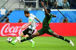 lionel messi goal argentina nigeria