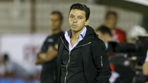 Marcelo Gallardo Huracan River Plate Superliga Argentina 28012018