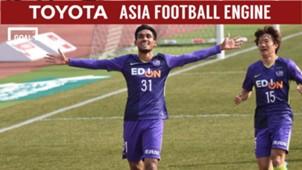 Sanfrecce Hiroshima Consadole Sapporo Vòng 1 J1 League 2018