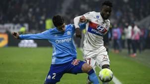 Maxwel Cornet Hiroki Sakai Lyon Marseille Ligue 1 17122017