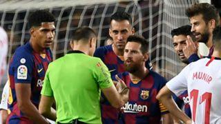 Lionel Messi Barcelona Sevilla 2019-20