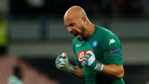 Pepe Reina, Napoli, Feyenoord, UEFA Champions League, 26092017