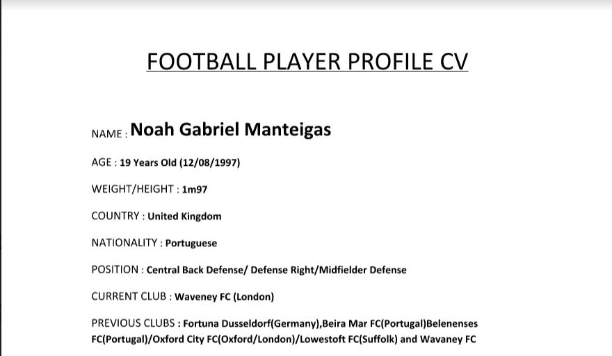 CV Noah Gabriel