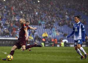 Andres Iniesta Espanyol Barcelona LaLiga