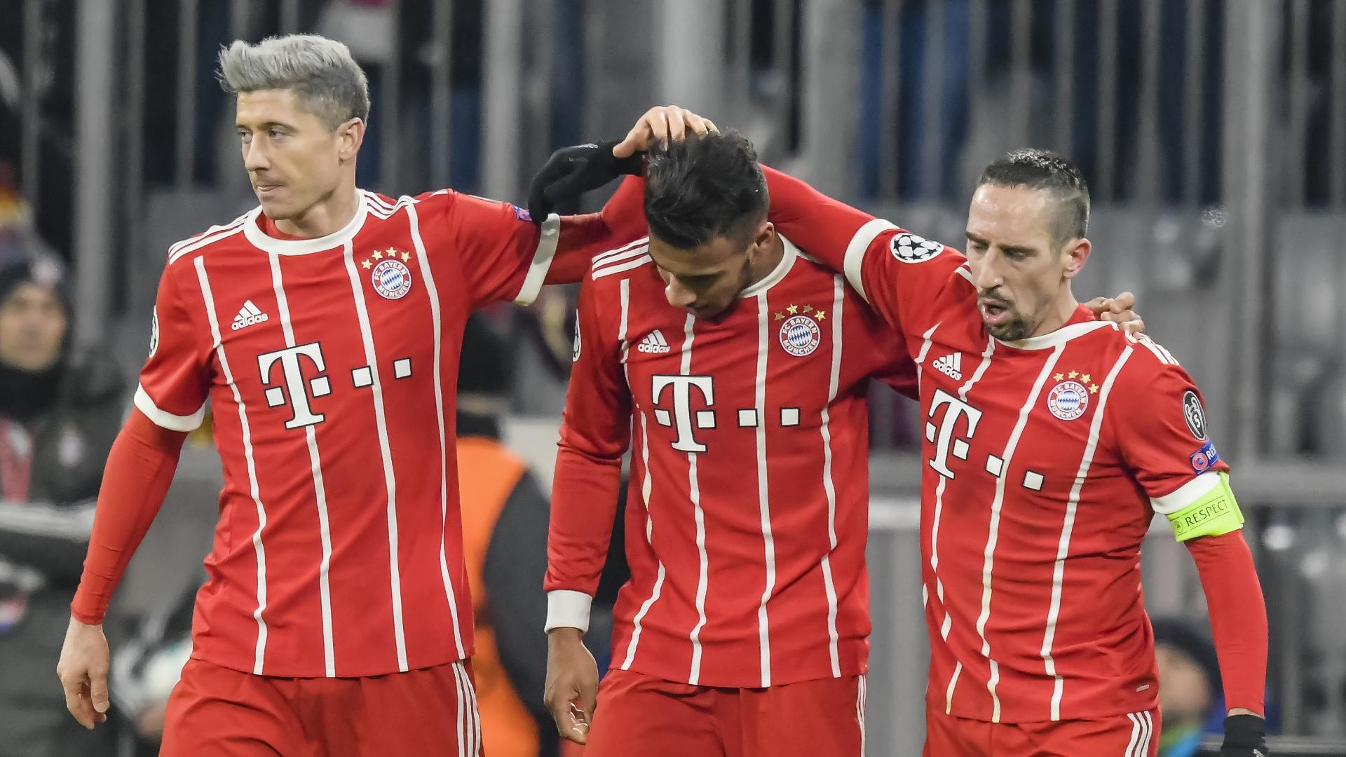 Lewandowski, Tolisso, Ribery, Bayern Munich vs PSG